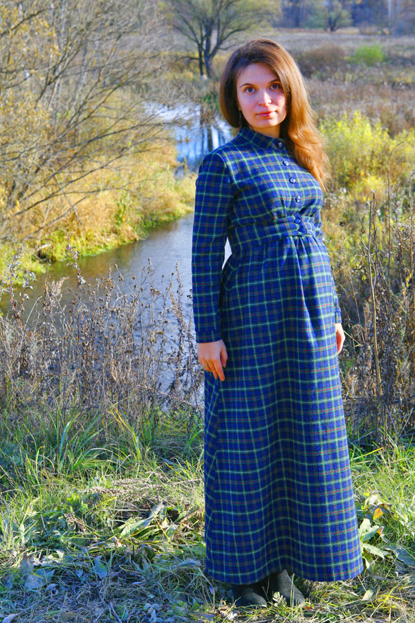 """Теплое платье """"Матрона Зимняя"""""""