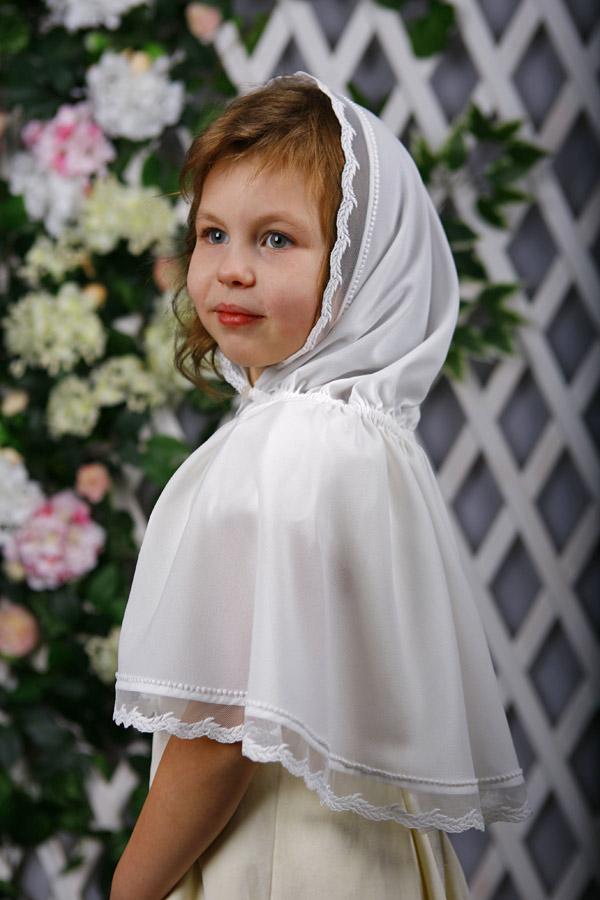 "Детский платок для церкви ""Злата"""