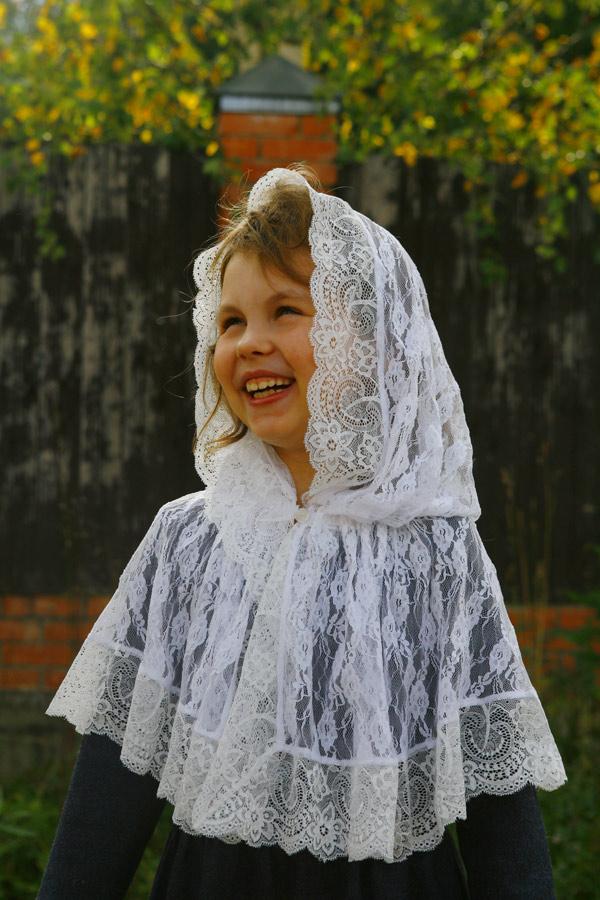 """Детский платок для церкви """"Софьюшка"""""""