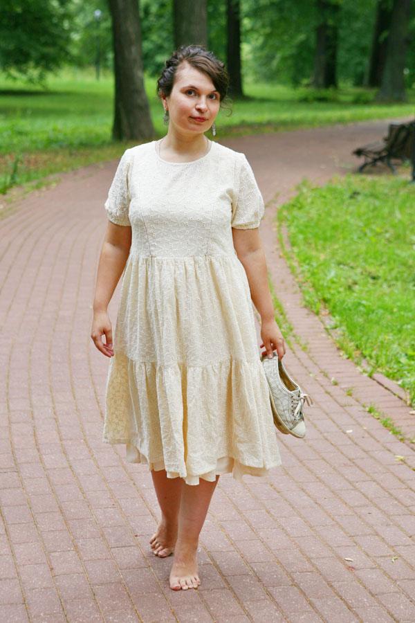 Легкое платье из шитья Алиса