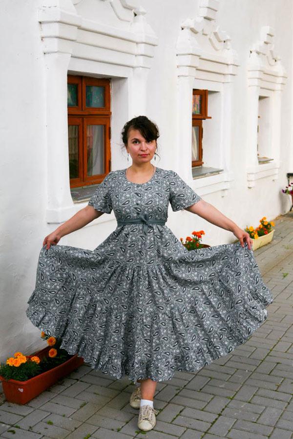 Домашнее платье Славянка