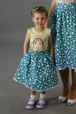 Детская юбка из  комплекта