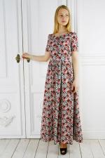 Длинное платье на лето