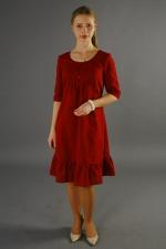 Летнее платье с завышенной талией