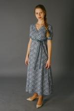 Домашнее платье с завышенной талией