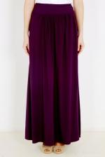 Фиолетовая летняя юбка в пол EF309JIZ