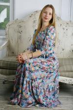 Прекрасное платье в пол