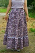 Летняя макси юбка