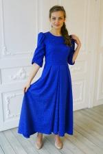 Асимметричное праздничное платье