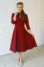 Праздничное миди платье