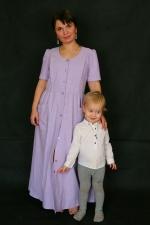 Летнее платье Нимфа