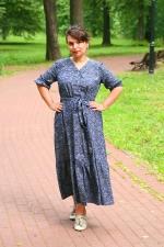 Летнее джинсовое платье Флер